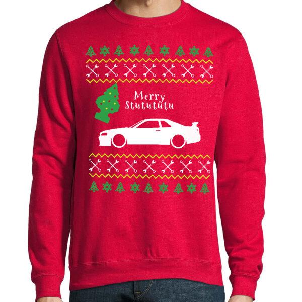 skyline christmas sweater